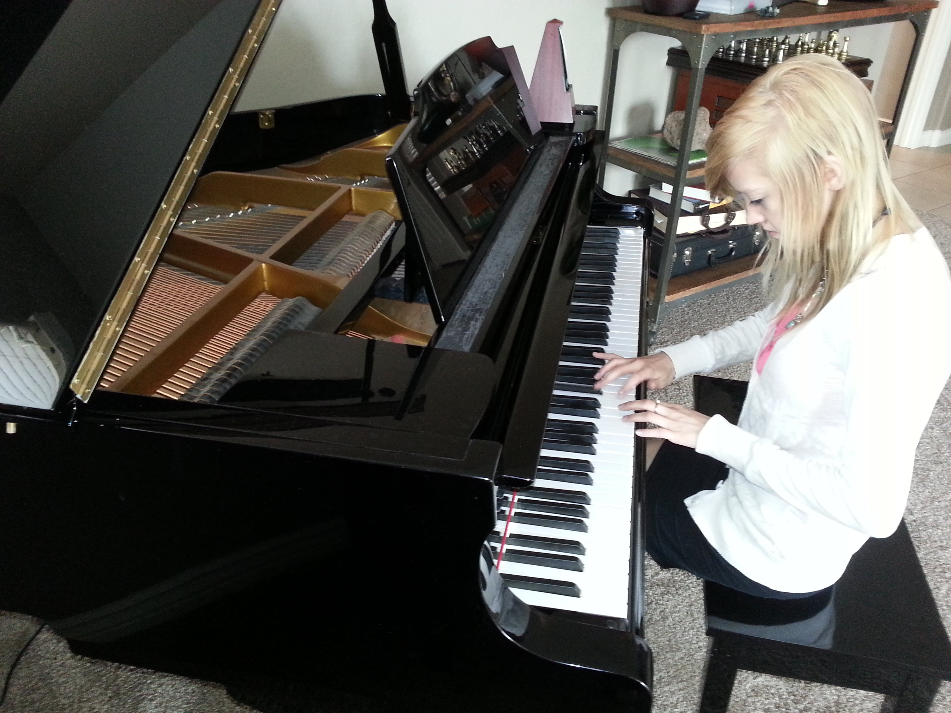Brooke and Piano