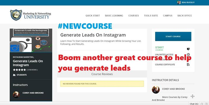 Generate Leads On Instagram
