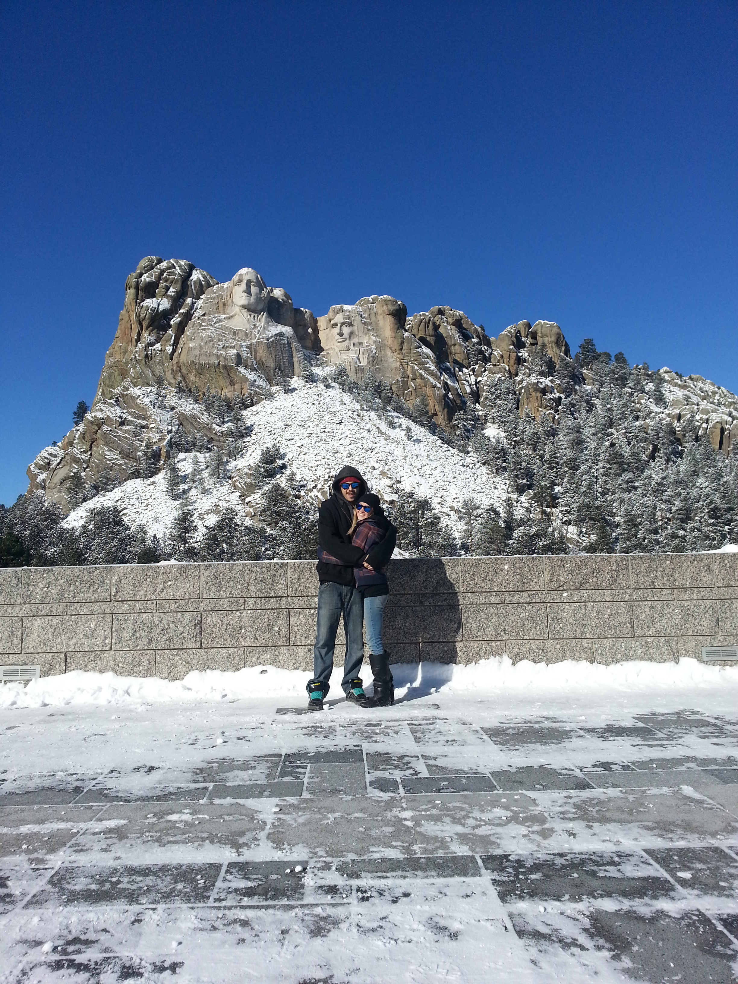 Brooke and Corey, Mt. Rushmore, SD